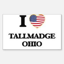 I love Tallmadge Ohio Decal