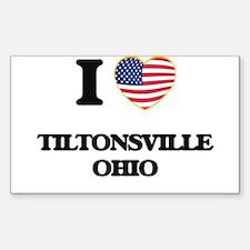 I love Tiltonsville Ohio Decal