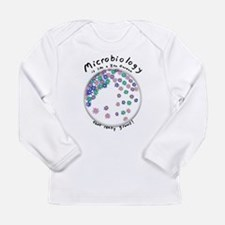 Microbiology is a Zen Garden Long Sleeve T-Shirt