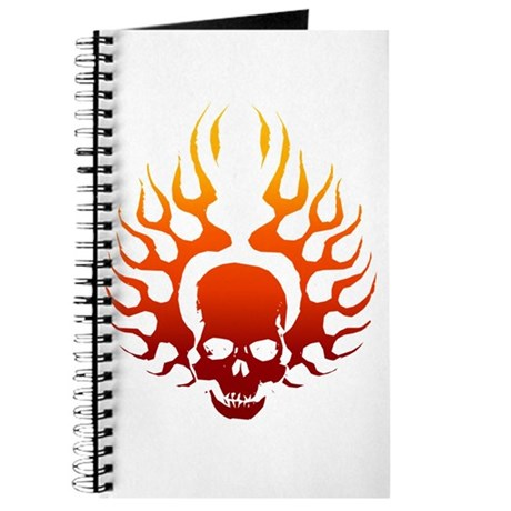 Flaming Skull tattoo Journal