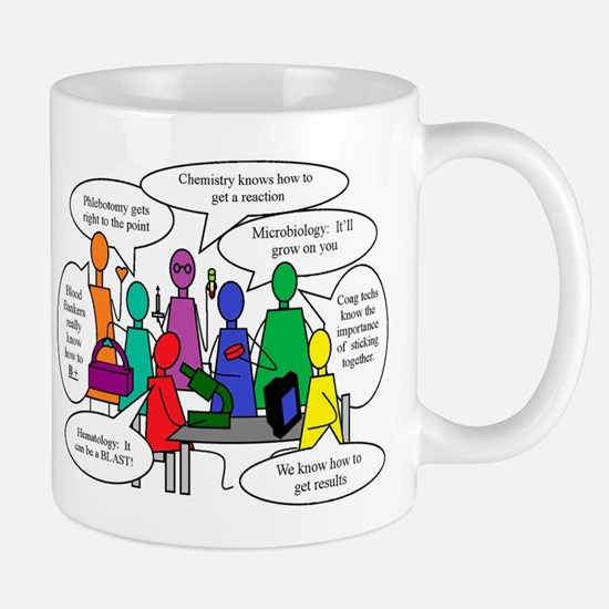 Laboratory Team Humor Mug