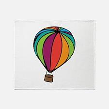 Colorful Balloon Throw Blanket