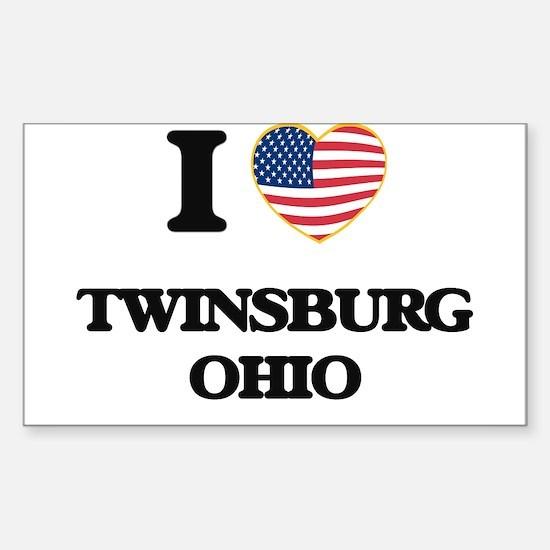 I love Twinsburg Ohio Decal