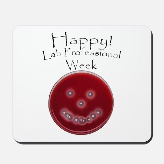Smiling Petri Dish Mousepad