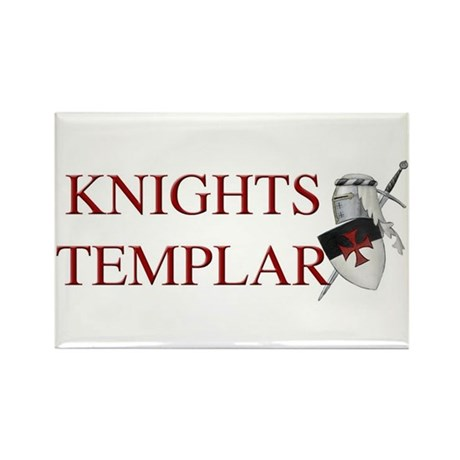 Knights Templar Rectangle Magnet (10 pack)