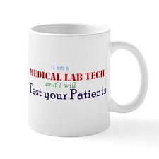 I am a Lab Tech Mugs