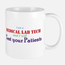 I am a Lab Tech Mugs