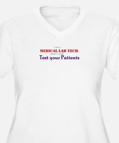 I am a Lab Tech Plus Size T-Shirt