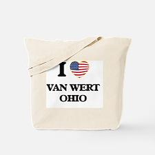 I love Van Wert Ohio Tote Bag
