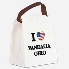 I love Vandalia Ohio Canvas Lunch Bag