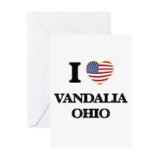 I love Vandalia Ohio Greeting Cards