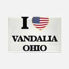 I love Vandalia Ohio Magnets