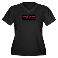 Test Your Patients Plus Size T-Shirt