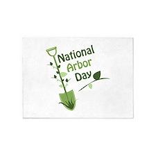 National Arbor Day 5'x7'Area Rug