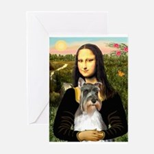 Mona's Schnauzer Greeting Card