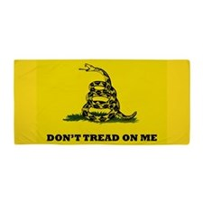 Don't Tread On Me Gadsden Flag Yellow Beach To
