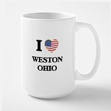 I love Weston Ohio Mugs