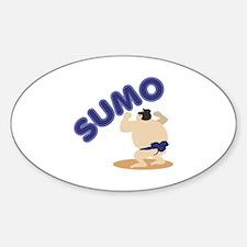 Sumo Wrestler Sumo Decal