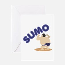 Sumo Wrestler Sumo Greeting Cards