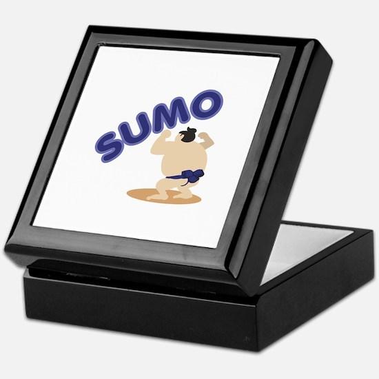 Sumo Wrestler Sumo Keepsake Box