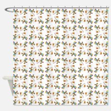 PARTY DOGS Shower Curtain