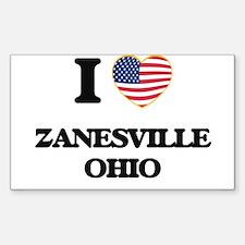 I love Zanesville Ohio Decal