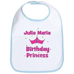 Julia Maria - 1st Birthday Pr Bib