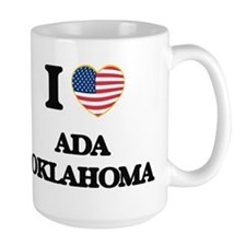 I love Ada Oklahoma Mugs
