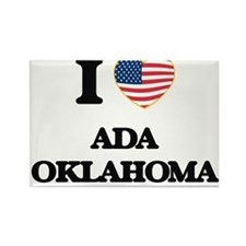 I love Ada Oklahoma Magnets