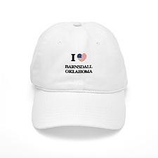 I love Barnsdall Oklahoma Baseball Cap