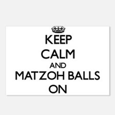 Keep Calm and Matzoh Ball Postcards (Package of 8)