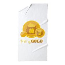 Pot Of Gold Beach Towel