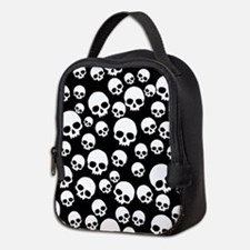 Funny Skulls Neoprene Lunch Bag