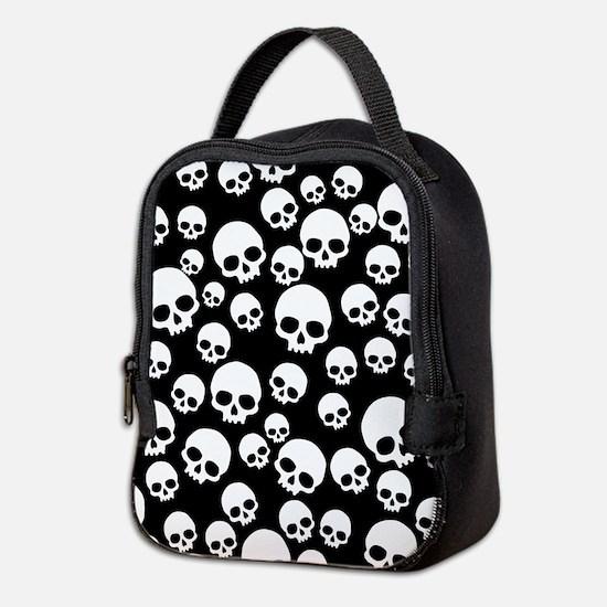 Cute Skull Neoprene Lunch Bag