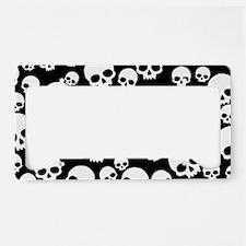 Cute Skull License Plate Holder