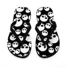 Cute Gothic Flip Flops