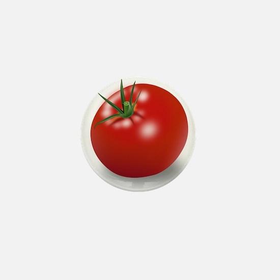 Red tomato Mini Button