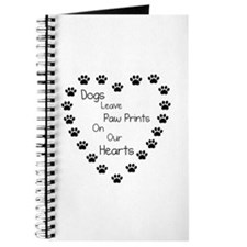 Dogs Leave Paw Prints 10 x 10.png Journal