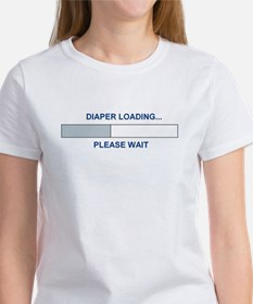 DIAPER LOADING... Women's T-Shirt