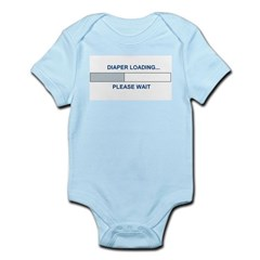 DIAPER LOADING... Infant Bodysuit