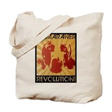 Weimaraner Revolution Tote Bag