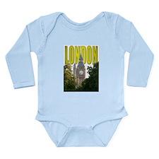 LONDON GIFT STORE Long Sleeve Infant Bodysuit