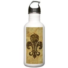 Cute Fleur de lis Water Bottle
