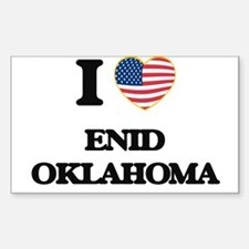 I love Enid Oklahoma Decal