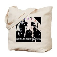 Weimaraner Nation Tote Bag