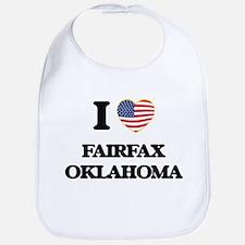 I love Fairfax Oklahoma Bib
