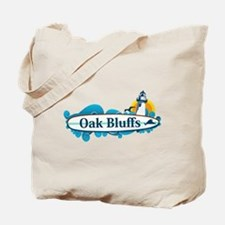 Oak Bluffs - Martha's Vineyards. Tote Bag