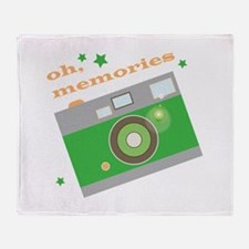 Oh Memories Throw Blanket