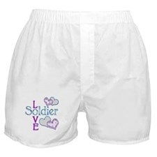Soldier Love Boxer Shorts