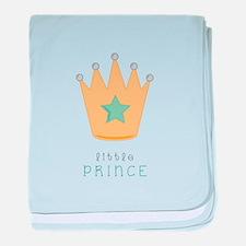 Little Prince baby blanket